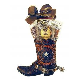 Cowboy Boot Gift Gift Baskets For Him Recipient